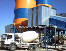 Constmach STATIONARY 240  CONCRETE BATCHING  PLANT BRAND NEW!