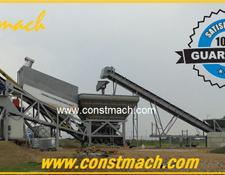 Constmach MOBILE CONCRETE MIXING PLANT 60m3h CAPACITIY