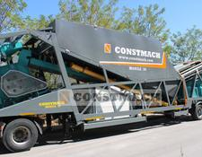 Constmach MOBILE 35 CE CERTIFICATED MOBILE CONCRETE PLANT