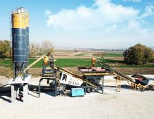 Fabo TURBOMIX-120 MOBILE CONCRETE BATCHING PLANT | NEW GENERATION