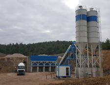 Promax S100-SNG Stationary Concrete Batching Plant Single Shaft