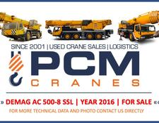 Demag AC 500-8 SSL (YEAR 2016)