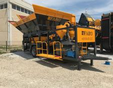 Fabo Minimix-30 Mobile Concrete Plant | New Project